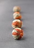 Chrysanthemum tea balls