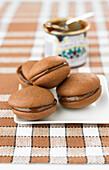 Chocolate-chestnut cream Whoopies