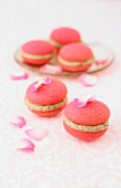 Rose water and Masala chai Whoopies
