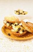 Pear-chocolate Whoopies