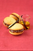 Vanilla-fig jam and olive oil Whoopies