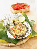 Thai-style cod steak