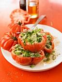 Provençal-style stuffed tomatoes