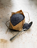 Bag of poppy seeds