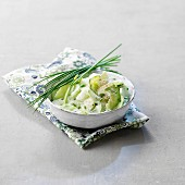 Cucumbers with cream