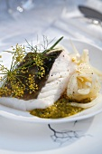 John Dory with fennel