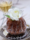 Small Kouglof with Alsace white wine