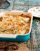 Cod and cider bake