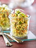 Bulghur tabbouleh with parsley