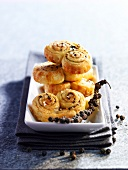Salt and pepper Palmiers