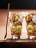 Banana split Verrines