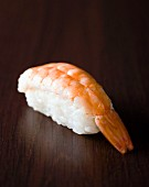Sushi mit Garnele