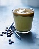 Coffee-vanilla capuccino
