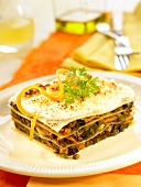 Lentil lasagnes