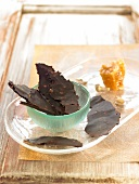Chocolate tuiles