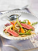 Asian-style beef fillet