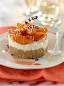 Apricot and mascarpone dessert