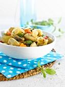 Hähnchen-Gemüse-Ragout