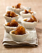 Candied chestnut mini cheesecakes