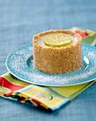 Margarita-style cheesecake