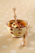Rum-raisin Crème brûlée