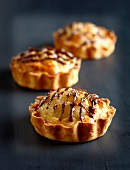 Pear-choclate tartlets