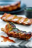 Thai-style pork spare ribs
