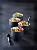 Kiwi-Erdbeer-Salat mit Minze