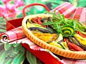 Italian-style vegetable tart
