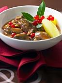 Civet grand veneur (Klassisches Wildgericht, Frankreich)