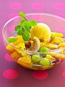 Fruit minestrone