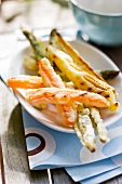 Vegetable tempuras