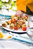 Fish brochettes