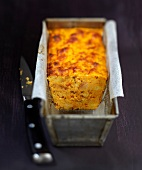 Carrot and caraway pudding