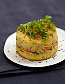 Crab and caraway Parmentier