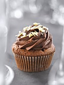 Two chocolate cupcake