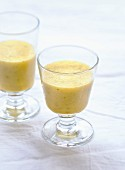 Apple and melon smoothie