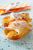 Apricot croissants
