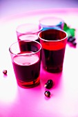 Aphrodisiac blackcurrant juice