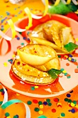 Carnaval apple tartlets