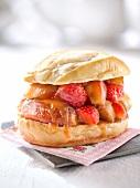 Sweet Breton burger
