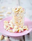 Ice cream-shaped chocolates