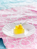 Pineapple and fennel jelly