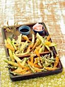 Mini vegetable Tempuras