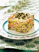 Russian barley salad