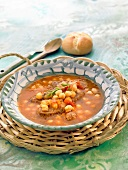 Meat and chickpea stew
