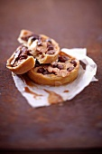 Dried fruit and nut honey tartlet