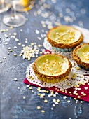 Lime and Speculos tartlets