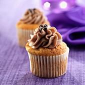 Kaffeemousse-Cupcake