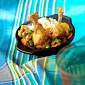 Chicken and vegetable casserole,Ecuador